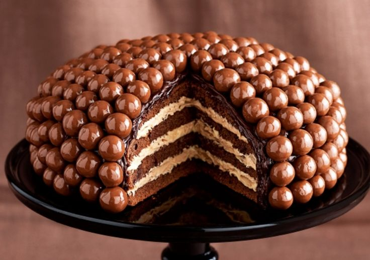 If a Picture says a thousand words, this Malteser Cake speaks volumes! It's a Chocolate lovers dream and you won't be able to wait to make it!
