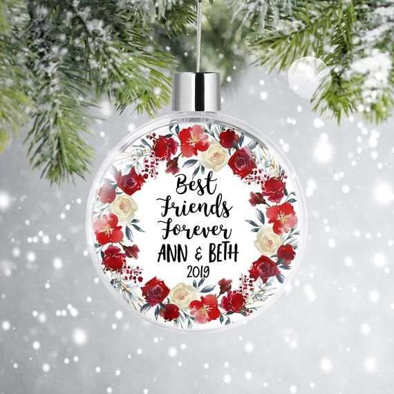 Shopping Friends Personalized Christmas Ornament