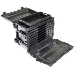 Pelican 0450 Mobile Black Hard Tool Chest with Drawers and Wheels | Overstock.com Shopping - The Best Deals on Shipping Boxes & Tubes