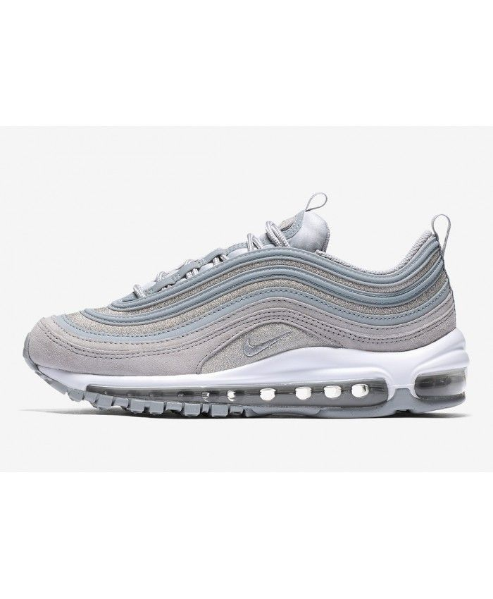 Nike Air Max 97 Premium Grey Silver White Trainers AT0071