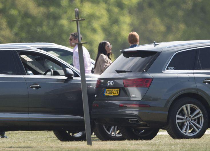 prince harry meghan markle | Meghan Markle Supports Prince Harry at Polo Match ...