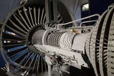The Rolls-Royce Trent 1000 is Made from Blocks #mostamazinggadgets #techgadgets trendhunter.com