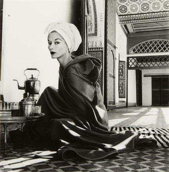 Palace (Lisa Fonssagrives-Penn), Marrakech, Morocco, 1951