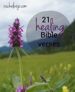 God's Word contains the words we need for healing. Every level of healing- physical, mental, emotional, spiritual… the list could continue. Grab on to this Scripture for healing today!