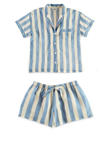 Sleepy Jones Marina shirt and Paloma pyjama