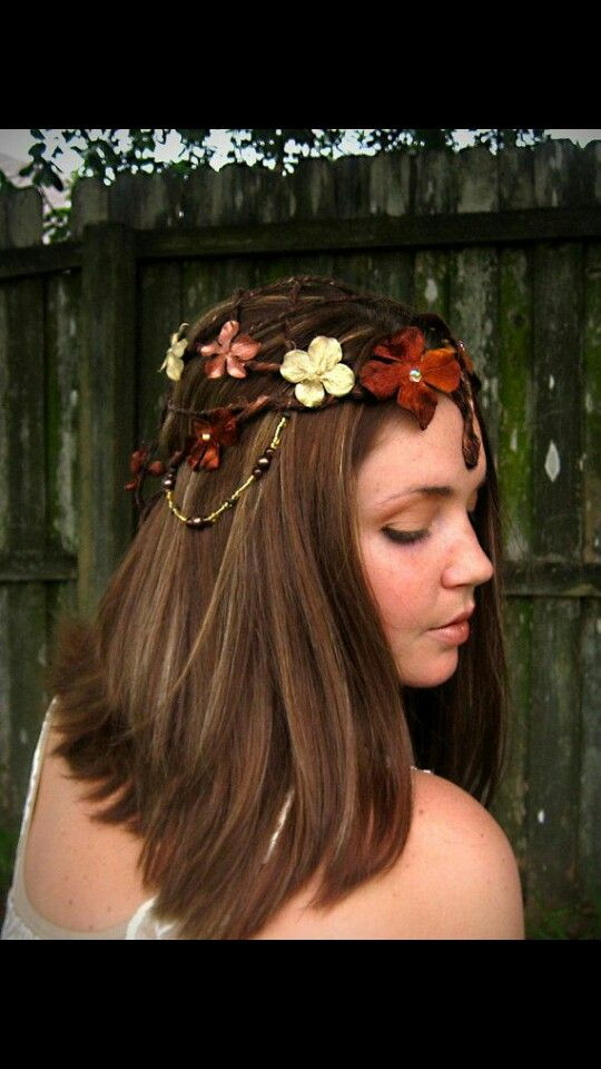 Mediaeval inspired hairstyle