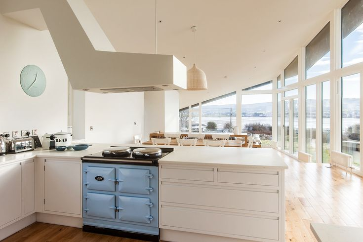 Idealcombi Futura+ #windows maximising the view of this Irish self build.