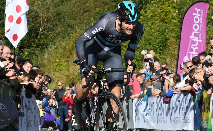 """British Cycle Sport pe Twitter: """"Honoured to chat to a rider twice on the podium in @Milano_Sanremo - @swiftybswift - good to see you at @monsalhillclimb #star #worldclass https://t.co/CeJRMmjqPw"""""""