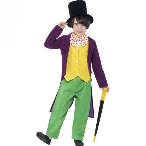 Disfaz de Willy Wonka de Charlie y la Fabrica de Chocolate