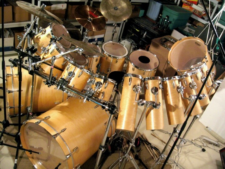 Morning wood | cool drum kits | Pinterest