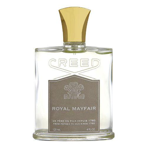 CREED Royal Mayfair -Zainspirowany przełamywaniem przez Księcia Windsoru modowych granic i utartych szlaków, Royal Mayfair powraca po niemal 80 latach od daty pierwotnej premiery jako jeden z najbardziej pożądanych zapachów domu Creed.  Mayfair jest jedną z najbardziej ekskluzywnych dzielnic Londynu, znaną z luksusowych domów mody i marek, które przyciągają uwagę stylowych elit. #creed