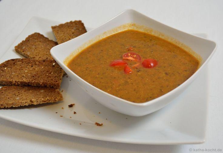 Puy-Linsen Suppe mit Karotten und Orangensaft - Katha-kocht!