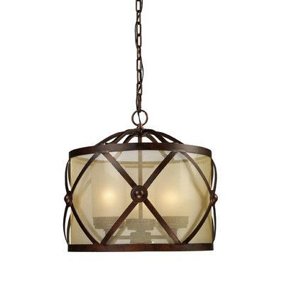 Features:  -Frosted blown glass shade.  -Cumberland collection.  Chandelier Type: -Mini chandelier.  Finish: -Classic bronze.  Number of Lights: -3.  Bulb Wattage: -60 Watts.  Bulb Type: -Incandescent