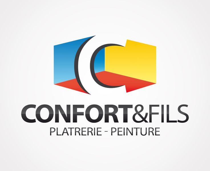 Création du logo de la société Confort & Fils à Brindas