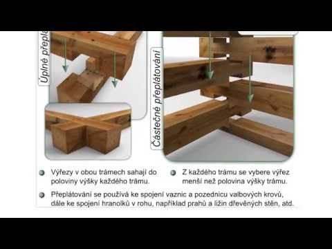 Tesařské spoje, Přeplátování - YouTube