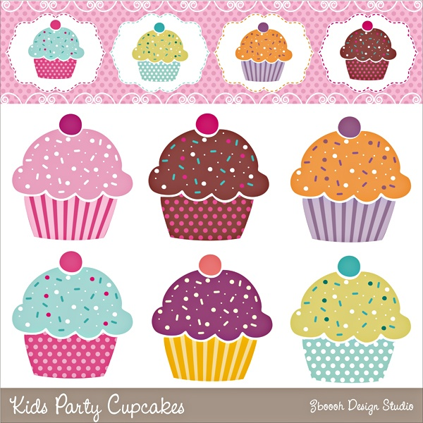 Kids Party Cupcakes