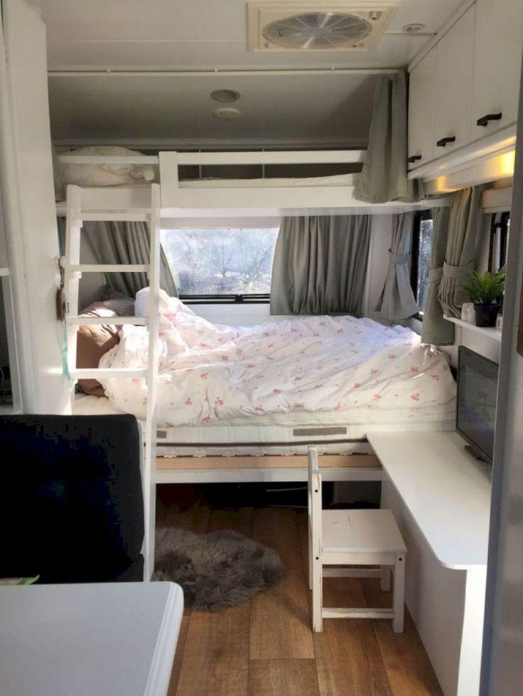 25 Wonderful Small RV And Camper Van Interiors Design Ideas