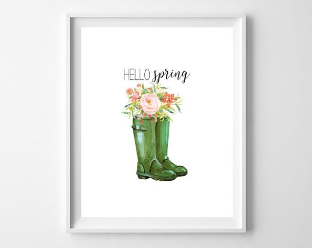 Free art: ten pretty spring printables from Thrifty Decor Chick