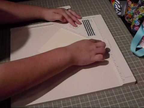 Making Envelopes and Liners with Martha Stewart Score Board and the Scor-Pal - YouTube