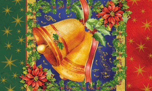 """Evergreen Christmas Bells,Silk Reflections Indoor or Outdoor Floormat,30x18 Inches by Ashley Gifts. $18.99. The size is: 30""""x18"""". Mildew resistant;Easy Care and Washable, Lay Flat or Hang to Air Dry. Anti-fague relief. Please check ASIN: B0061I1WT8 for Doormat Frame. Polyester with Recycled Rubber Slide-resistant backing Backing,. This beautiful floormat is perfect in or outside your home. It has a rubber non-slip back and withstands high traffic and wear.. Save 33%!"""
