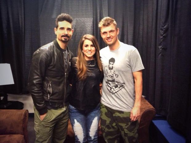 My dream came true Sunday when I had the opportunity to interview a couple of the members of The Backstreet Boys, Nick Carter & Kevin Richardson! I'm still smiling from ear to ear; it's a moment I'll never forget… and it's all on video! Click on the link to check it out. http://atlantic.ctvnews.ca/ana-chats-with-the-backstreet-boys-1.1807164#ixzz30wig5rS0