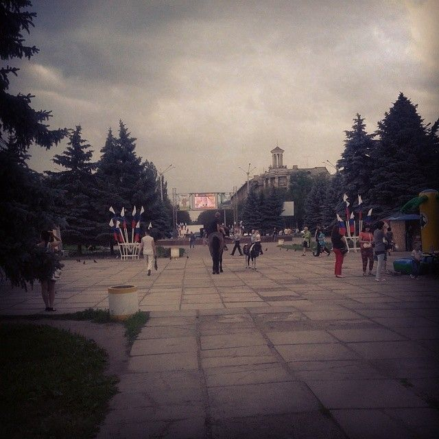 Вот такое настроение в Горловке! #днр#зароссию#горловка#russia#gorlovka - princesaaa20