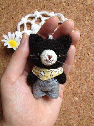 gato amigurumi pagina japonesa