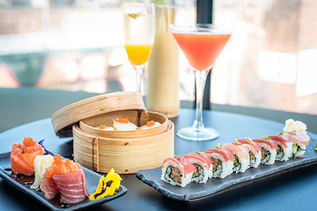 Three Course Meal with Sparkling Cocktail at Gilgamesh £23.75