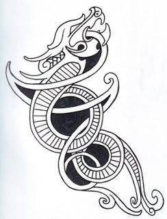 ... Dragon Tattoo Designs With Image Celtic Viking Dragon Tattoo Picture