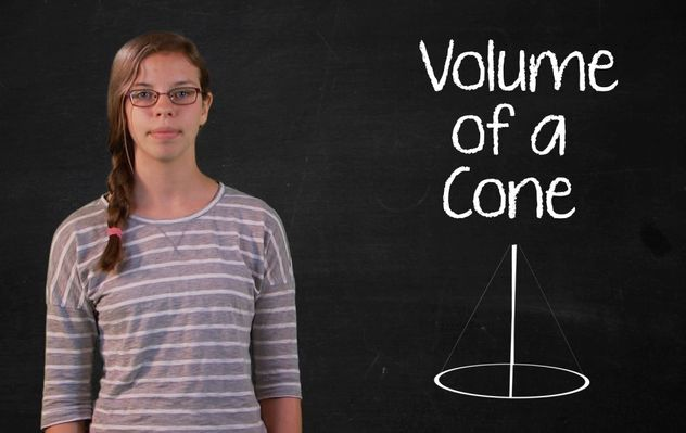 Volume of a Cone | Math | Video | PBS LearningMedia