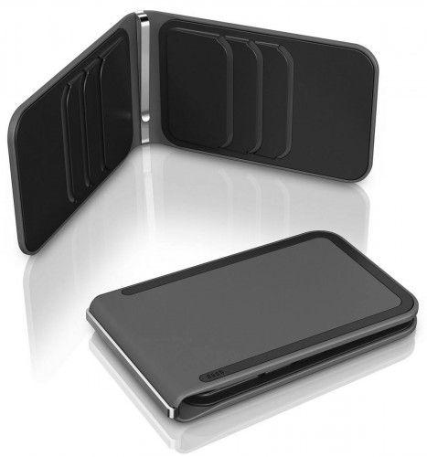 dosh Clooney Luxe 6 Card Wallet - Grey