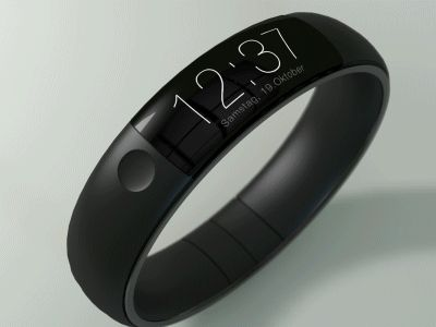 iWatch Mock-Up by Thomas Bogner
