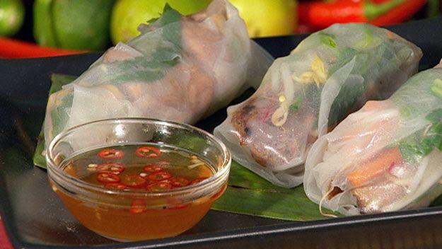 Vietnamese rice paper rolls recipe - 9Kitchen
