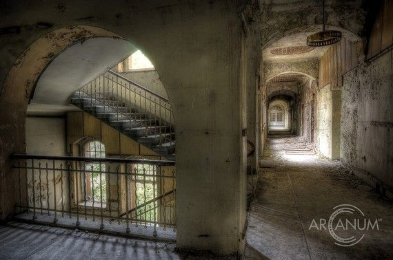 Sanatorium J. - Photos from a tuberculosis sanatorium deep in the Harz mountains in Germany.