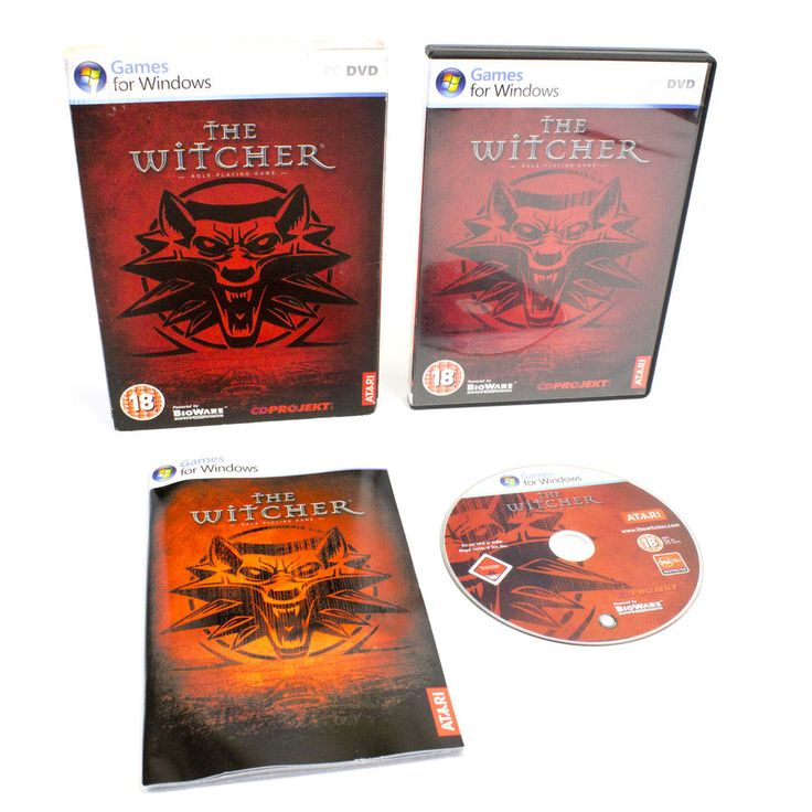The Witcher Limited Slipcover Edition for PC by CD Projekt RED, 2007