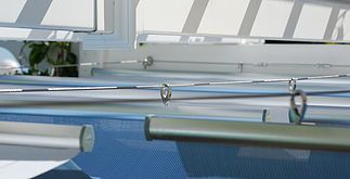 A Fully adjustable canopy for Gazebos or awnings