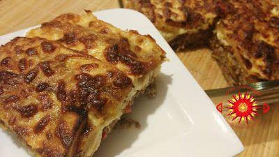 Cocina Costarricense: pastel de plátano maduro