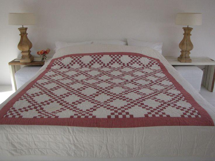 Handgemaakte quilt nummer 5 260 cm 260 cm - € 225,00   VIA CANNELLA WOONWINKEL   CUIJK