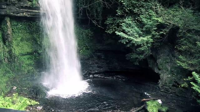 30 beautiful sec. filmed by me @ Glencar - beautiful romantic waterfall where the wandering water gushes -8 miles north of Sligo Town, in Co. Leitrim. Inspired the poet WB Yates to write