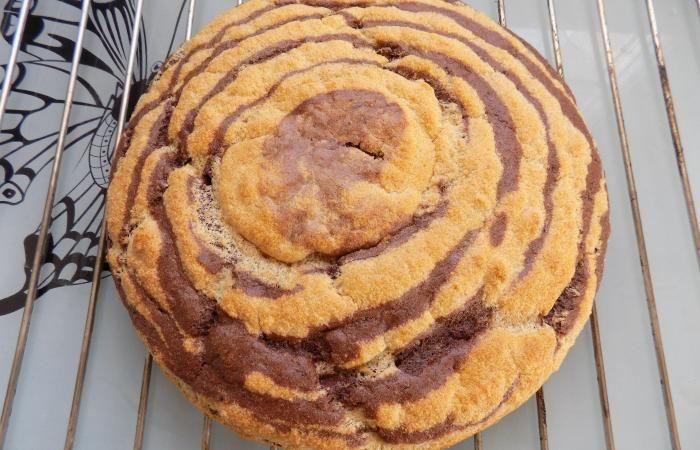Régime Dukan (recette minceur) : Gateau au yaourt zébré #dukan http://www.dukanaute.com/recette-gateau-au-yaourt-zebre-11847.html