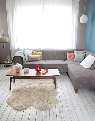 I love how something as simple as pastel cushions can make such a difference to a space