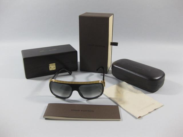 Authentic Louis Vuitton Extremely Limited Black Millionaire Sunglasses  $4,995.00 (USD)