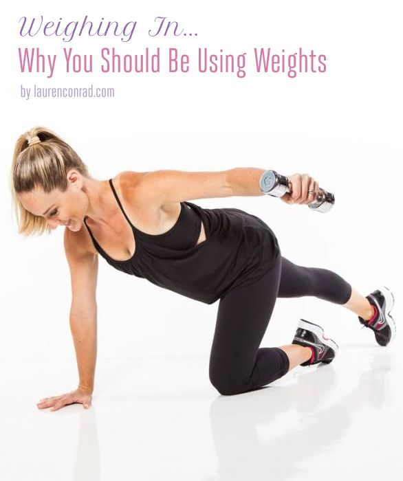 "Fit Tip: Why You Should Be Using Weights. For those girls who thinks weights make you ""manly"""