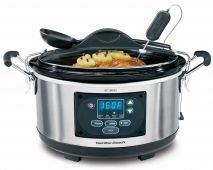 Set & Forget® 6 Qt. Programmable Slow Cooker With Spoon/Lid (33967)***Not necessarily this brand, but a programmable one....