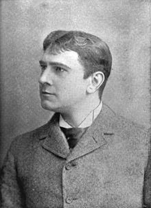 Herbert Arthur Chamberlayne Blythe (September 21, 1849 – March 25, 1905)—stage name Maurice Barrymore—was a British-born stage actor. He was the patriarch of the Barrymore acting family, father of Lionel , Ethel, and John, and great-grandfather of actress Drew