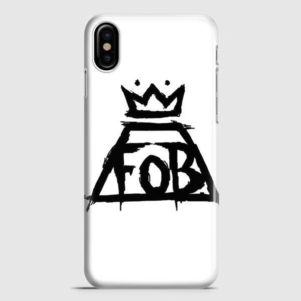 Fall Out Boy White iPhone X Case | casescraft
