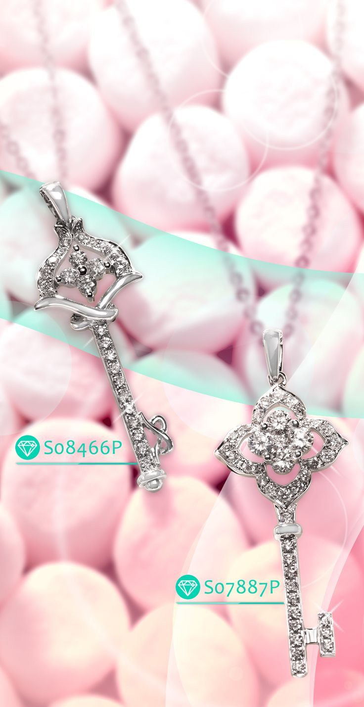 Key Diamond Pendant || http://www.newegg.com/Product/Product.aspx?Item=9SIA0TA1BE9751&ignorebbr=1 || Key shaped is always fashion and trendy for your beloved one. This special key is for opening her heart.