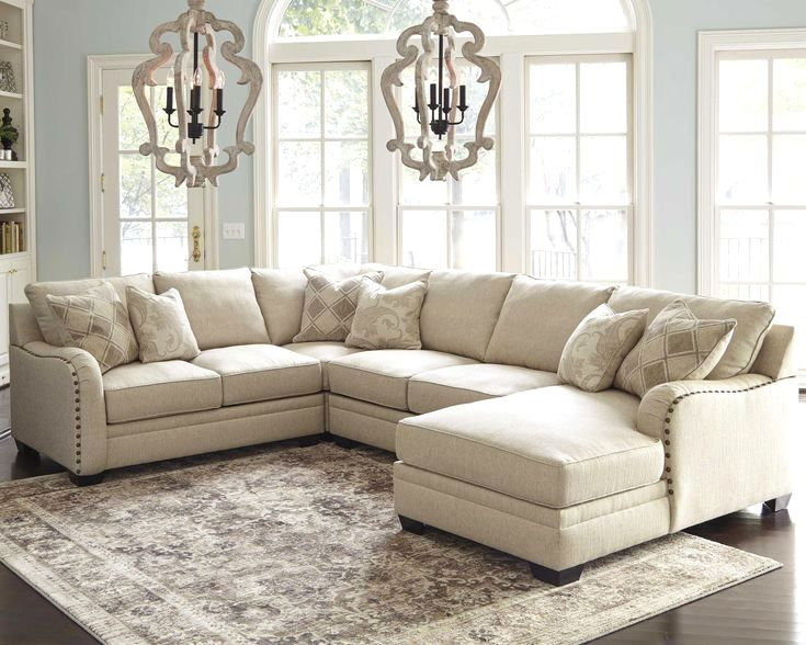 Luxora 4 Piece Sectional Bisque Livingroomdesign Farm House Living Room Living Room Designs Living Room Sectional