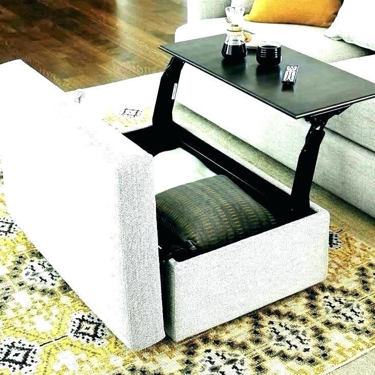 Rectangular Ottoman Coffee Table Convertible Ottoman Coffee Table