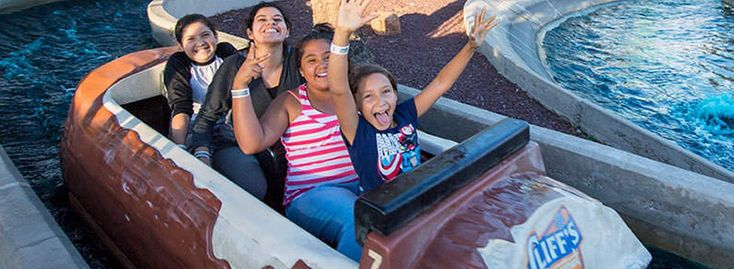 Cliff's Amusement Park in Albuquerque New Mexico offers fun for the whole family! Between our thrill rides, family rides, and Kiddyland, Cliff's is the perfect place to bring the entire family for a day full of thrills, laughs, food, and fun. Want to beat the heat during the hot summer months? Prepare to get drenched..